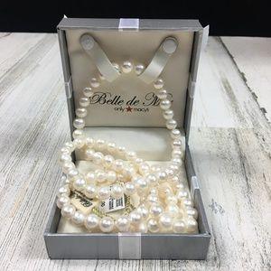 "NEW! Belle de Mar 36"" Endless Pearls 8.5 - 9mm"